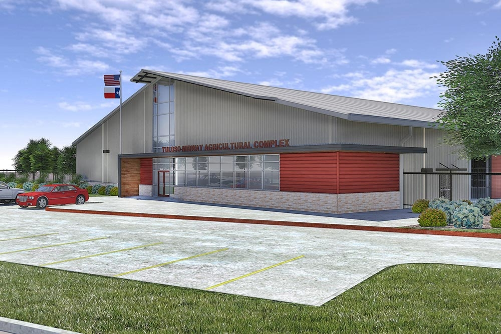 Schematic design approved for new Tuloso-Midway ISD… | VLK