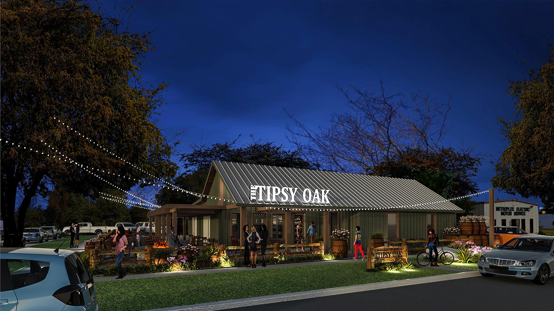 Tipsy Oak Vlk Architects