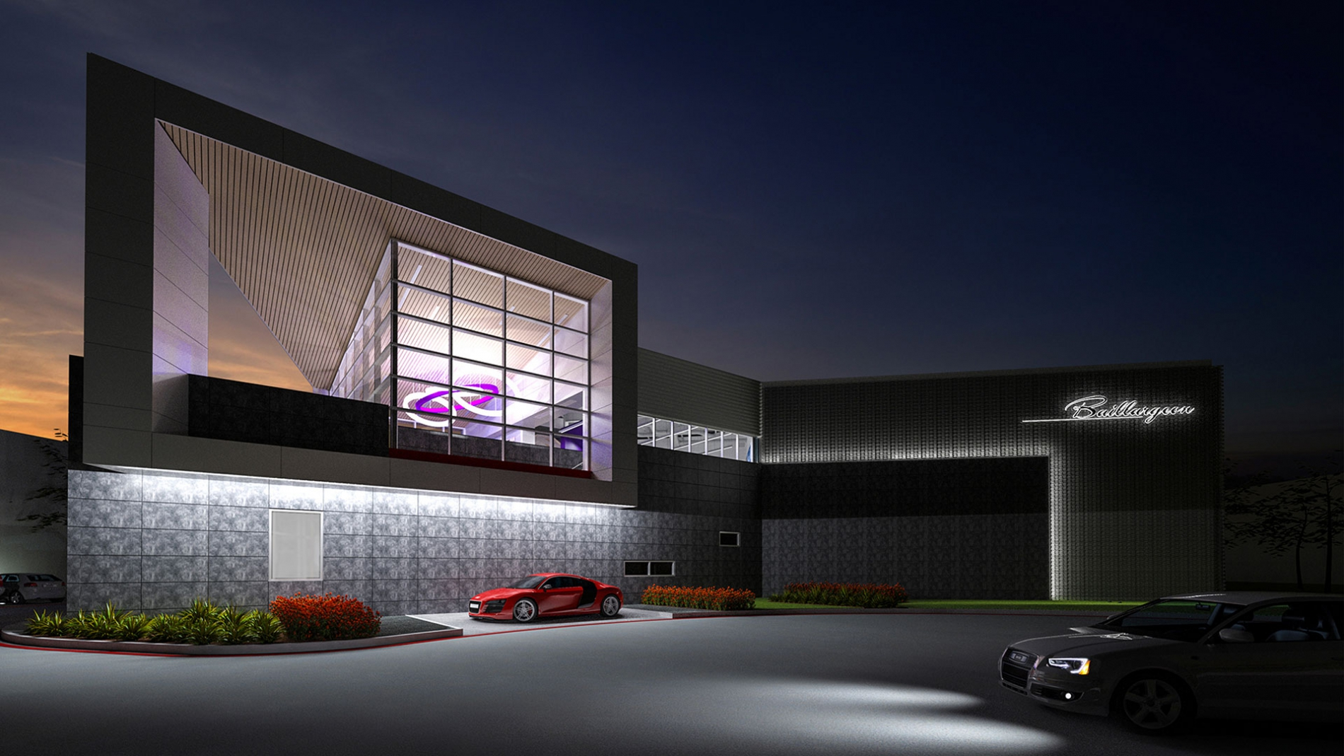 Automotive Architects - Audi Fort Worth