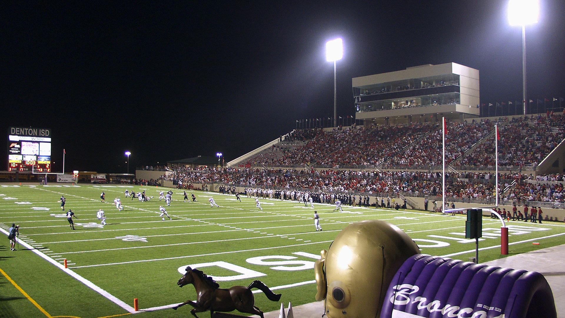 C H Collins Athletic Complex Stadium And Natatorium Vlk