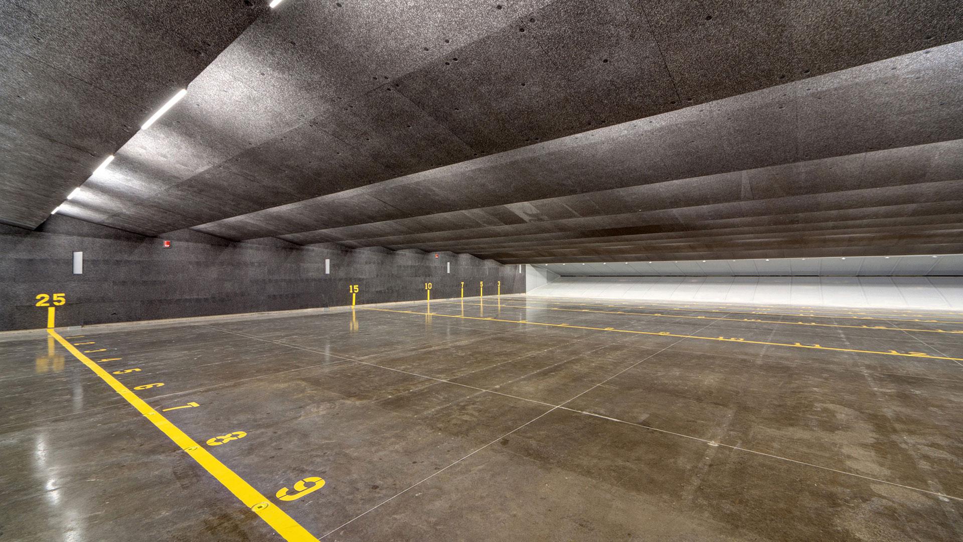 Police firing range vlk architects - Tarrant county college interior design ...